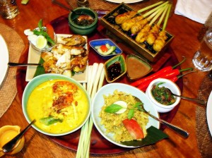 Eating and Drinking in Bali