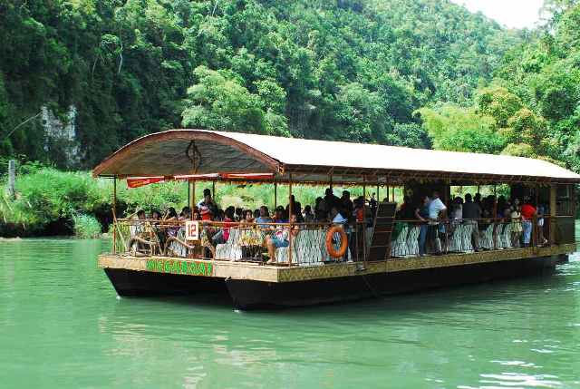 Gliding Through The Loboc River Cruise In Bohol