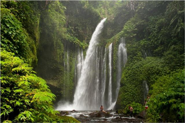 Air Terjun Tiu Kelep Second Most Popular Waterfall In Lombok