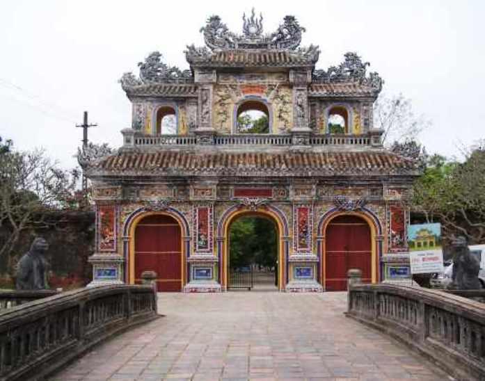 Forbidden Purple City in Hue