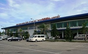Phu Bai Airport in Hue
