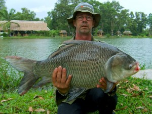 how to fish for carp in a lake